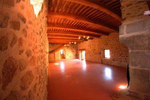 Grde salle 2 - Chateau de Saint Gervazy