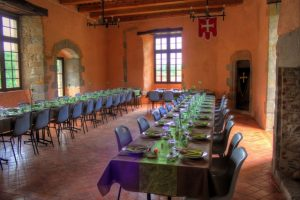 grde salle - Chateau de Saint Gervazy