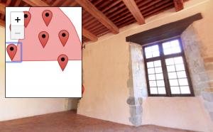 Visite Virtuelle du Chateau ici