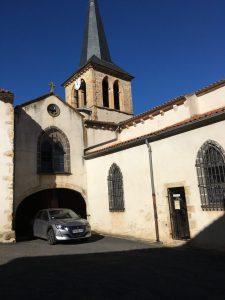 Eglise du XIIe s., St-Gervazy, Auvergne