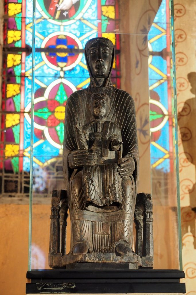 Vierge Noire de Saint Gervazy