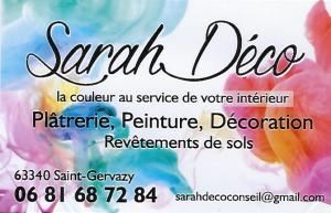 Sarah Deco, St Gervazy