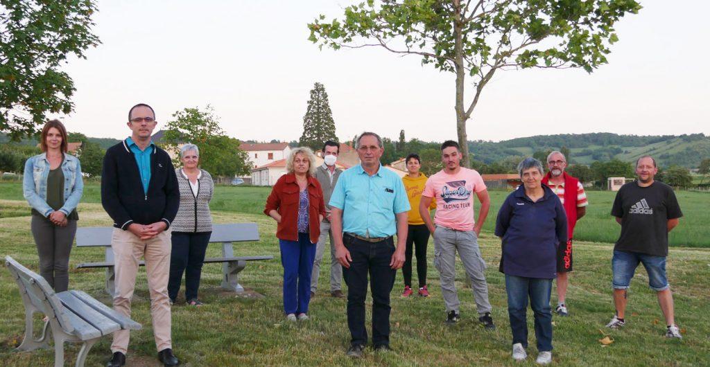 Equipe Municipale 2020, Saint Gervazy, Puy-de-Dome, Région Auvergne-Rhône-Alpes