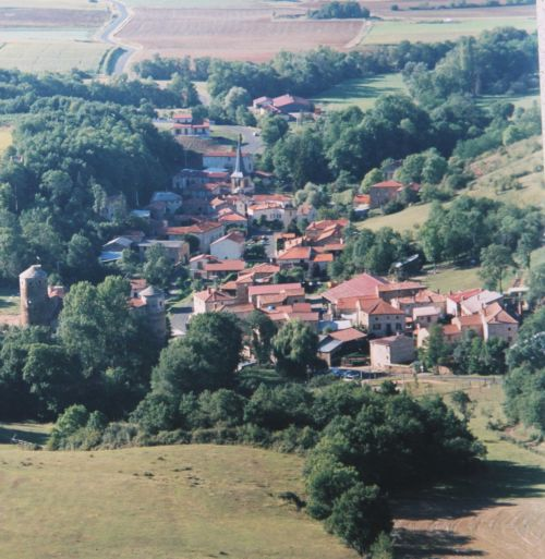 Saint Gervazy - le village, commune de St Gervazy