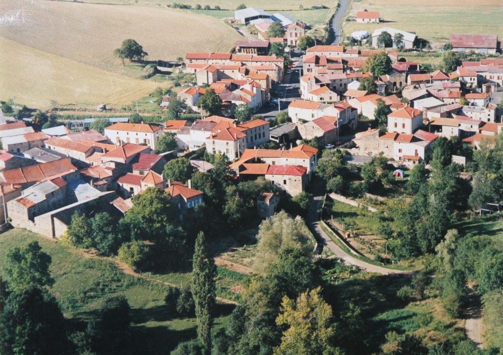 Segonzat - le village, commune de St Gervazy