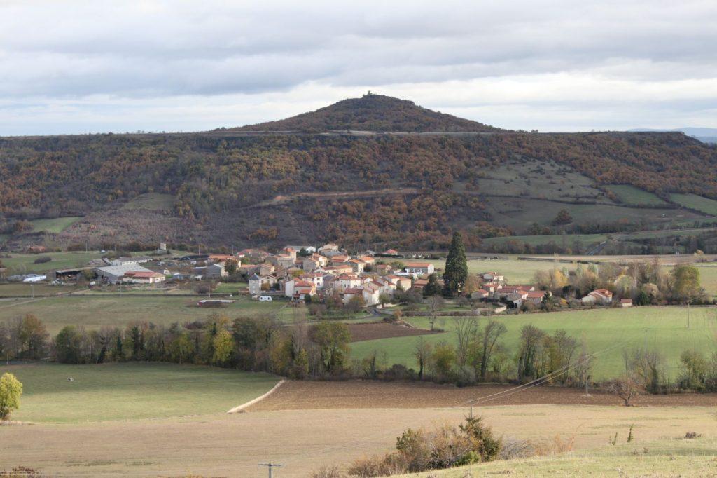 Scourdois - le village, commune de St Gervazy