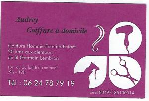 Audrey Coiffure, St-Gervazy 63
